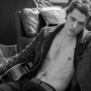 Eugene Simon sexy shirtless photo shirtless