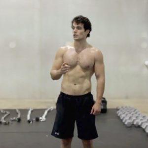 Henry Cavill hunk shirtless