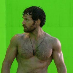Henry Cavill naked body shirtless