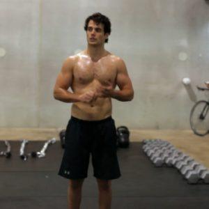 Henry Cavill sexy selfie shirtless