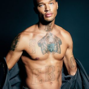 Jeremy Meeks full frontal shirtless