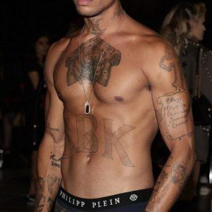 Jeremy Meeks penis shirtless