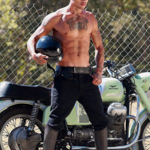 Jeremy Meeks porno picture shirtless
