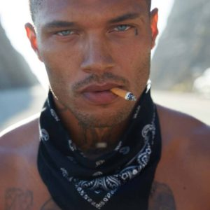 Jeremy Meeks ripped muscles shirtless