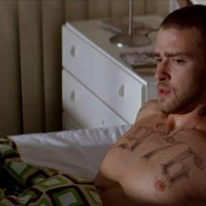 Justin Timberlake bum nude
