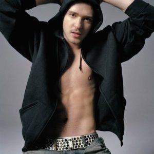 Justin Timberlake ripped muscles shirtless