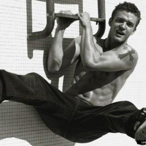Justin Timberlake shirtless picture shirtless
