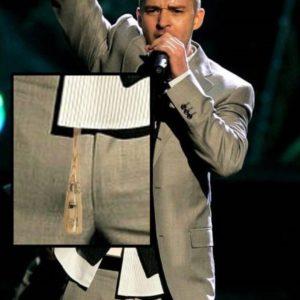 Justin Timberlake uncensored nude pic bulge