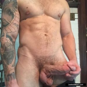 Matthew Camp exposing dick nude