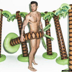 Nico Tortorella big muscles nude
