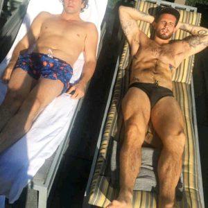 Nico Tortorella hard shirtless