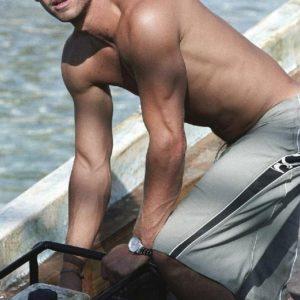 Paul Walker big muscles nude