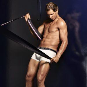 Rafael Nadal bum modeling