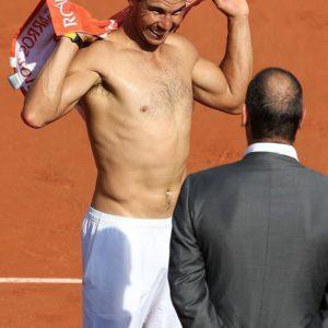 Rafael Nadal dick slip nude
