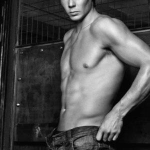 Rafael Nadal hunk modeling