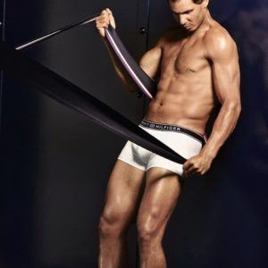 Rafael Nadal photo shoot modeling
