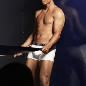 Rafael Nadal ripped muscles modeling