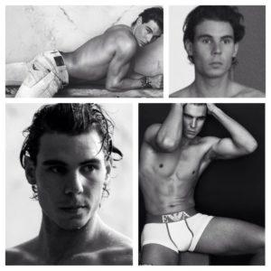 Rafael Nadal sexy modeling