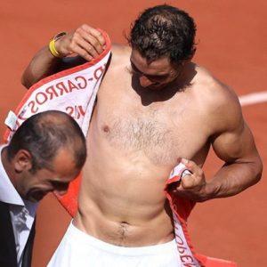 Rafael Nadal stud nude