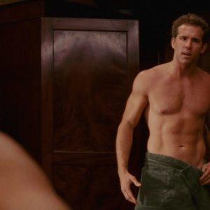 Ryan Reynolds bum shirtless