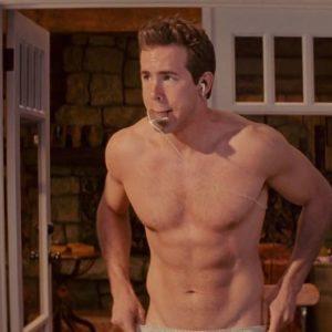Ryan Reynolds jerk off shirtless