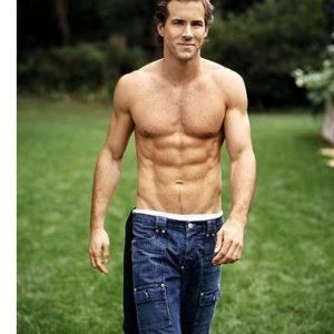 Ryan Reynolds shirtless picture shirtless