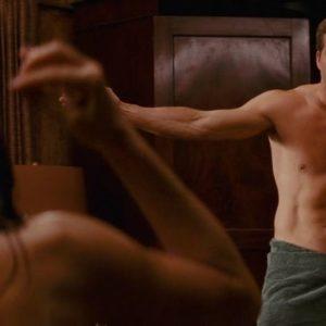 Ryan Reynolds showing dick shirtless