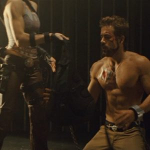 Ryan Reynolds stud shirtless