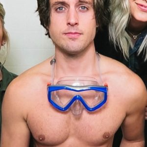 Sawyer Hartman masturbating nude