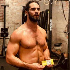 Seth Rollins bum shirtless