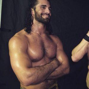 Seth Rollins naked shirtless