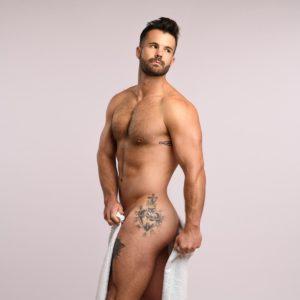 Simon Dunn butt nude