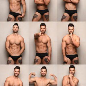 Simon Dunn stud nude