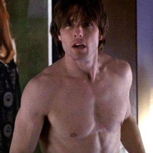 Tom Cruise hunk nude
