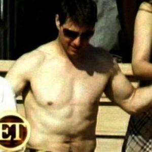 Tom Cruise sexy shirtless photo nude