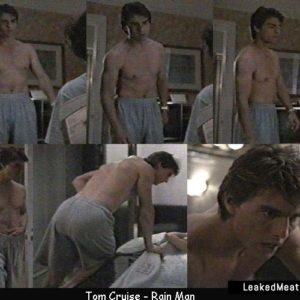Tom Cruise stud nude