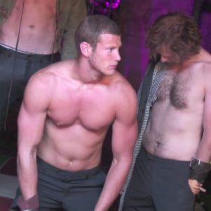 Tom Hopper beautiful body nude