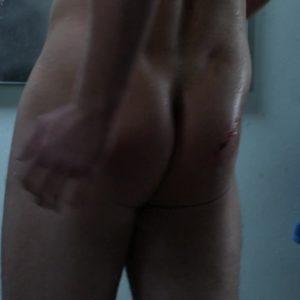 Tom Hopper butt nude