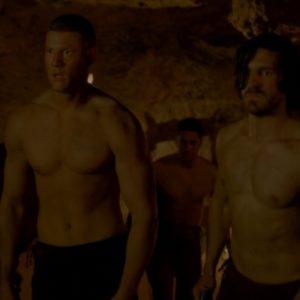 Tom Hopper muscles nude
