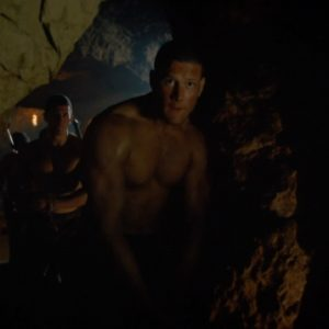 Tom Hopper ripped muscles nude