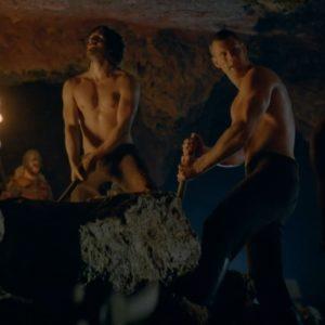 Tom Hopper sexy shirtless photo nude