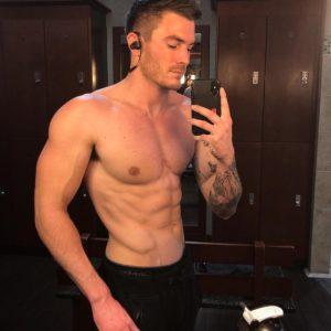 Vince Sant bum shirtless
