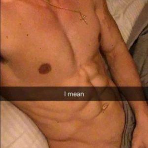 Vince Sant sexy selfie nude