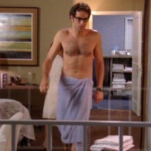 Zachary Levi ass nude
