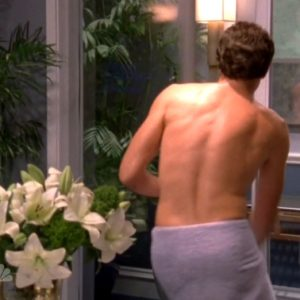 Zachary Levi bulge nude