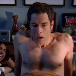 Zachary Levi bum nude