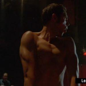 Zachary Levi dick slip nude