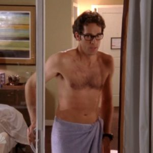 Zachary Levi nice muscles nude