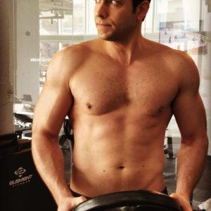 Zachary Levi ripped muscles sexy