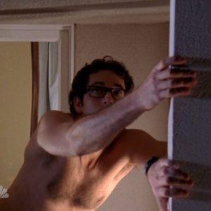 Zachary Levi sexy selfie nude